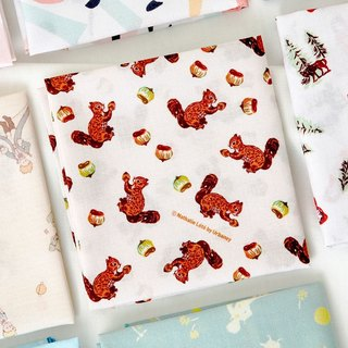 7321 Cotton Handkerchief - Acorn Squirrel, 73D87929