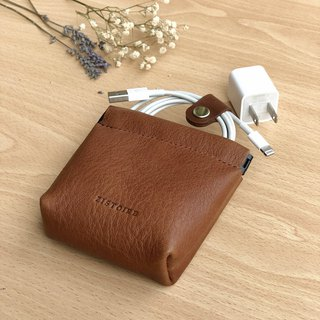 [Glamor] ZiBAG-037L / spring charging bag / brown BROWN
