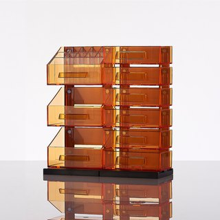Magnetic Multifunction Desktop Organizer - Orange