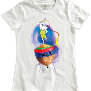 Classic white short-sleeved T-shirt _ 矸辘 矸辘 life (Female M without inventory)
