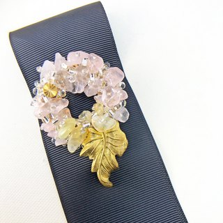 Japanese Style Brooch【Harvest Grapes】【Wedding 】【Christmas Gift】【Birthday Gift】