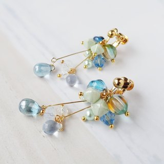 drop-blue Earrings