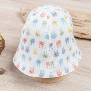 Double-faced fisherman's hat - children's wear newborn baby newborn