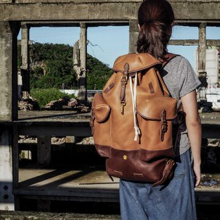 HEYOU Handmade – Retro Army Backpack