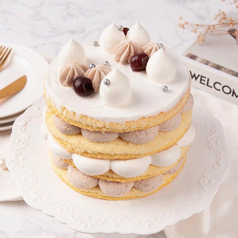 【台北光復店】芋見幸福鮮奶油蛋糕・蛋糕烘焙DIY・平板教學