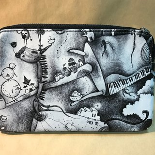 Driftwood leather clutch Ma fairy tale 5- (Su Difen Minerva X)