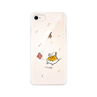Hello DunDun 啰Dengden series transparent jelly mobile phone soft shell 14. Play together