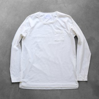 HUIS × yohaku plain cotton cut white · white size 3