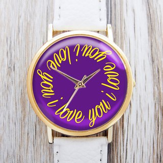 I Love You - Women's Watches/Men's Watches/Neutral Watches/Accessories [Special U Design]
