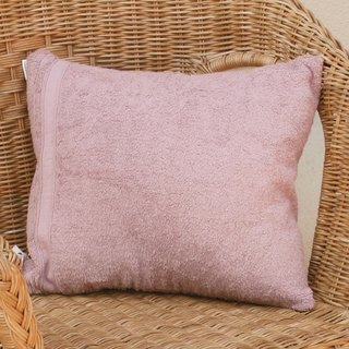 [Word] can be embroidered thick woven cotton small pillow (2 color selection)