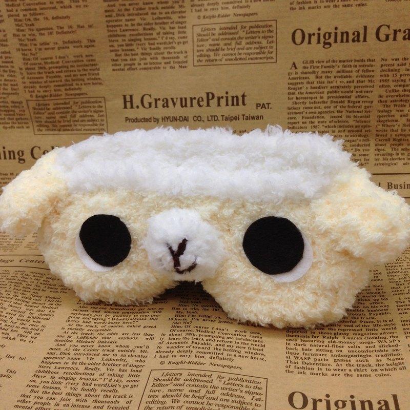 棉花糖動物眼罩-小羊