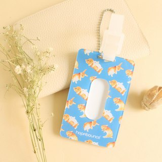 Toffee Rabbit Luggage Tag/ ID Tag