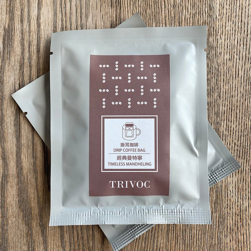 TRIVOC 濾掛咖啡-蘇島黃金曼特寧 (10gx10包)