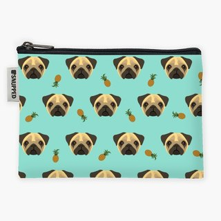 Snupped Zipper - Accessories Pouch - Pugapples