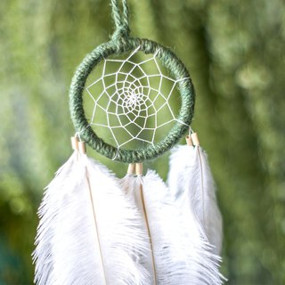 Dream Catcher 8cm - Early Autumn (Ink Green Line) - Forest Gifts, Gifts