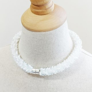 Promise Again Collar Necklace / Statement Necklace for Party or Anniversary