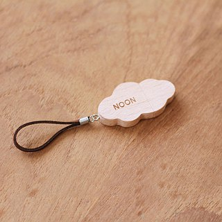 CUSTOMIZABLE Wooden USB Flash drive – Cloud (NOT include the leather)