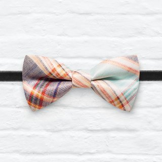 Style 0286 Modern Boys Bowtie, Toddler Bowtie Toddler Bow tie, Groomsmen bow tie, Pre Tied and Adjustable Novioshk