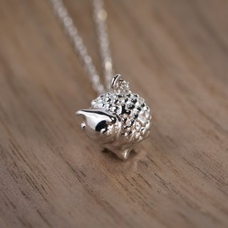 [Brigade] Cheng small warm sheep. 925 sterling silver necklaces