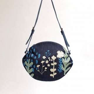 Shower razor embroidery / shoulder bag