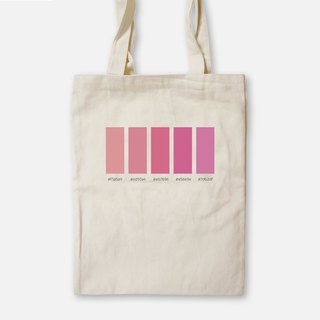 Dry Rose - Painted Canvas Bag