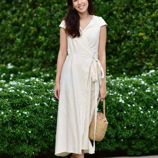 Isabella Linen Dress| made-to-order | custom size