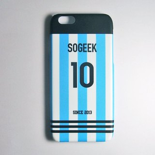 SO GEEK mobile phone shell design brand THE JERSEY GEEK shirt back number customized models 051