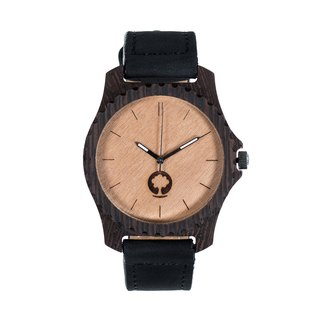 Plantwear – URBAN SERIES – EBONY WOOD TIMBER WRIST WATCH