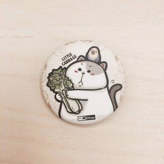 One cat cat cabbage series badges