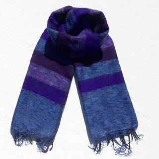 Christmas gifts exchange gifts emergency gifts limited edition of a national wind shawl / boho knitted scarves / hand-woven scarves / knitted shawls / blankets - my blueberry night blue purple stars stripes simple fashion