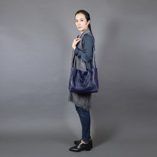 Passion China Blue hand bag / shoulder / hatchback