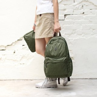 With the anti-water storage after the backpack - Army Green _100168