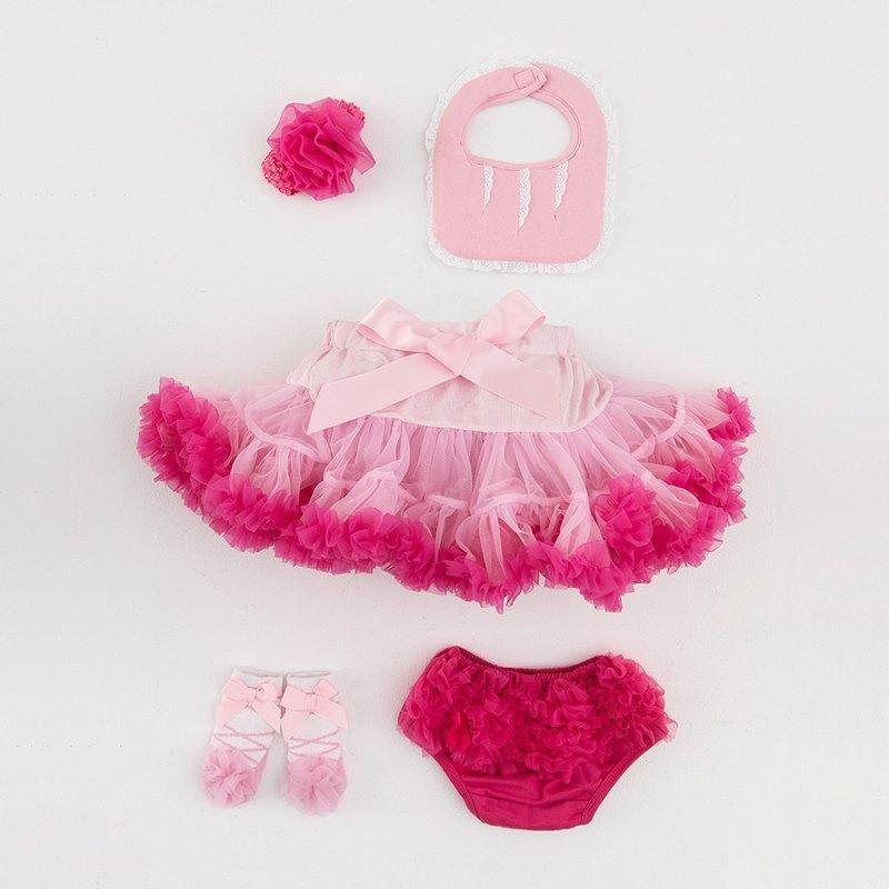 日安朵朵 女嬰童蓬蓬裙禮盒 - 豪華小公主櫻花