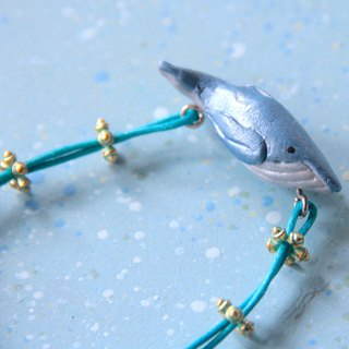 Humpback Whale Bracelet Solid Clay Hand Strap