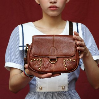 Pumpkin Vintage. Cross-body bag