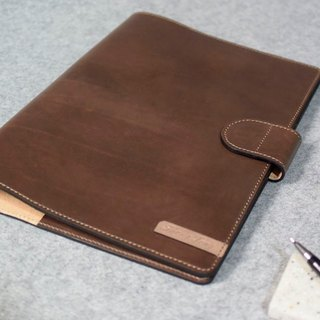 YOURS handmade leather leather book cover magnetic buckle tailored to various sizes B5 size