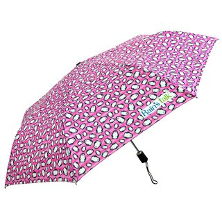 [Taiwanese Wenchuang Rain's talk] penguin anti-UV tri-fold automatic umbrella