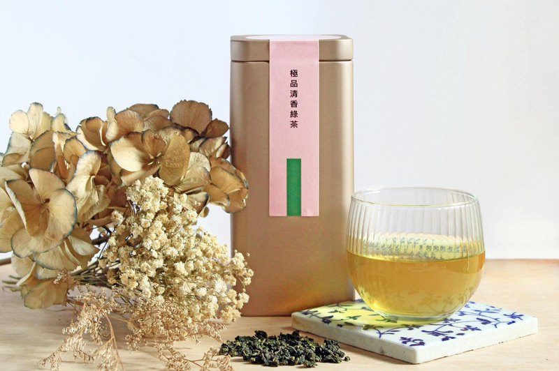 The best scented green tea (30 bags / bottle)