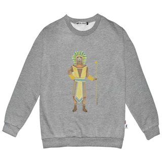 British Fashion Brand -Baker Street- Alpaca Pharaoh Printed Sweater
