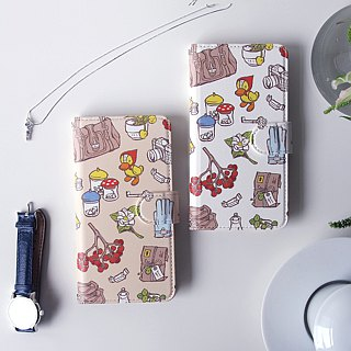 Notebook type phone case - For a Journey -