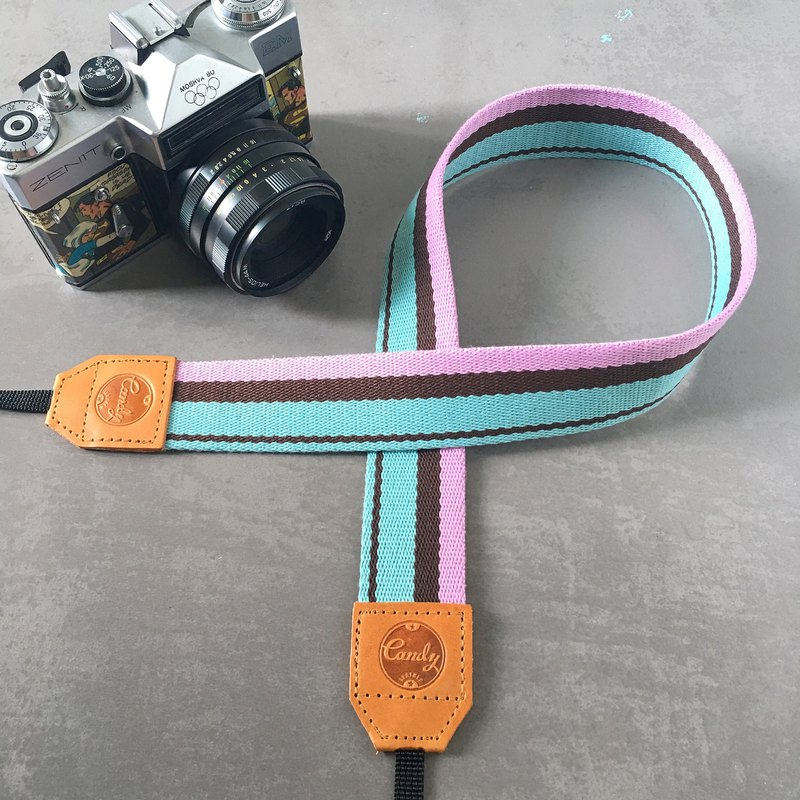 Pink Mixed  Mirrorless or DSLR Camera Strap