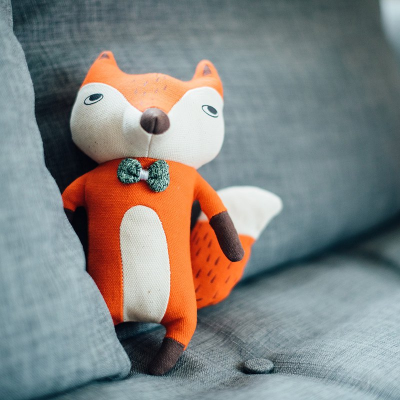 [Tail and me] stuffed toy fox jamie
