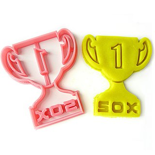 TROPHY Custom Cookie Cutter, Personalized with Rank and Winner Name