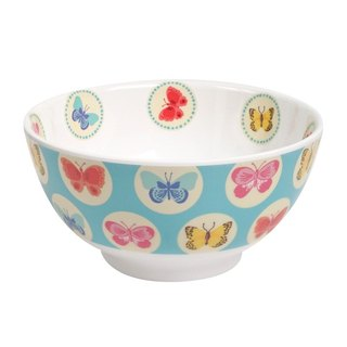 Butterfly 6 inch bowl - Blue