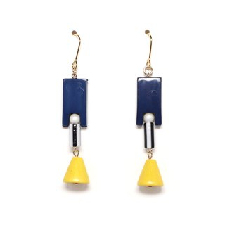 popcone Beads Earrings / Earrings