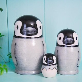 * Penguin * Matryoshka * 3 brothers ♪ [4]