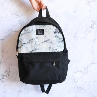 Backpack - marble
