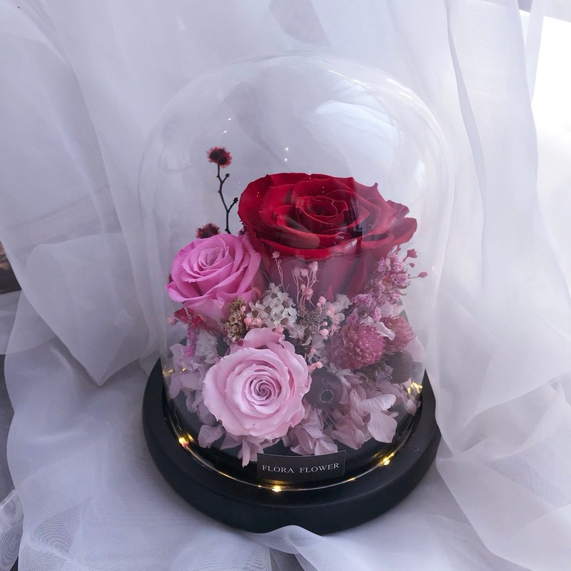 Eternal Flower Night Light - Classic Lovers Limited Flora Flower