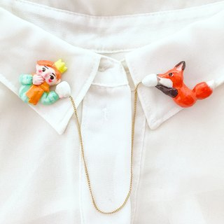 Little prince's microphone Collar clip