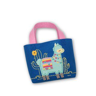 Fairy Land【Material Pack】 Alpaca Small Bag - Blue Green